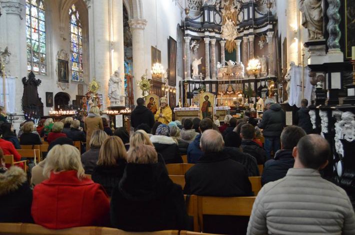 Єпископи Борис і Гліб відвідали греко-католиків у бельгійському місті Антверпен