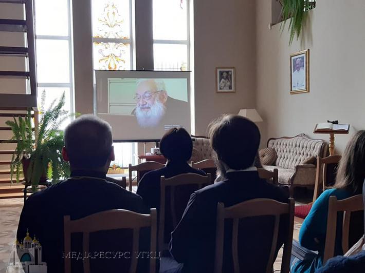 У Княжичах для працівників Патріаршої курії провели день духовної віднови