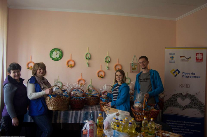 Карітас-Київ провів акцію «Великодній кошик»