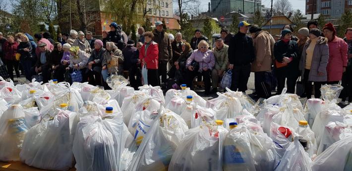 Результати Всеукраїнської благодійної акції «Великодній кошик
