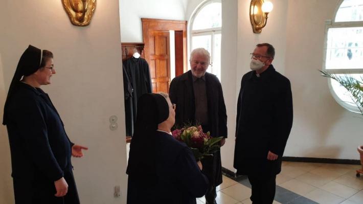 Владика Богдан Дзюрах прибув до Мюнхена