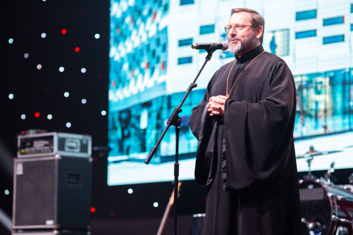 Слово Блаженнішого Святослава до гостей благодійного вечора УКУ