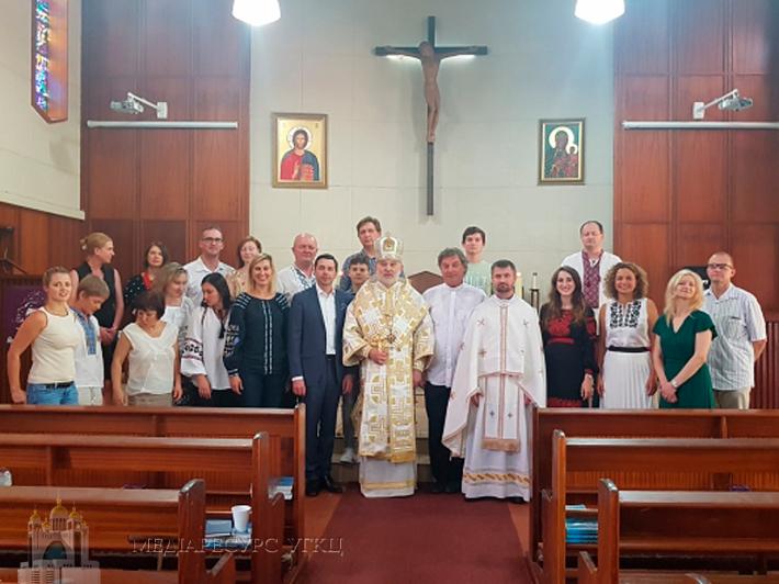 У Південно-Африканській Республіці єпископ УГКЦ відслужив першу Літургію