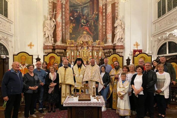 Голова ПМВ відвідав українську громаду та Візантійський центр у Зальцбурзі