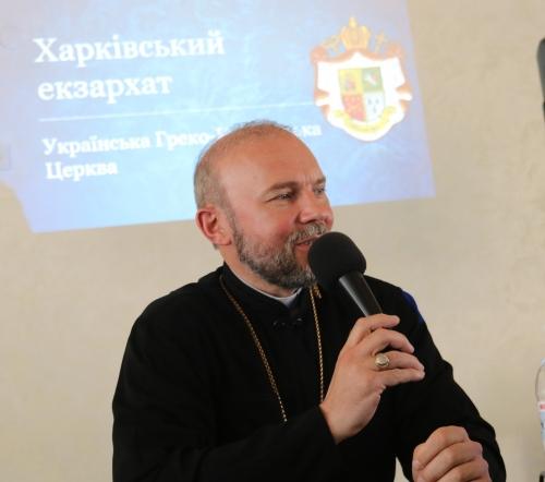 Владика Василь Тучапець: «На Сході України соціальна діяльність Церкви відіграє дуже велику роль»