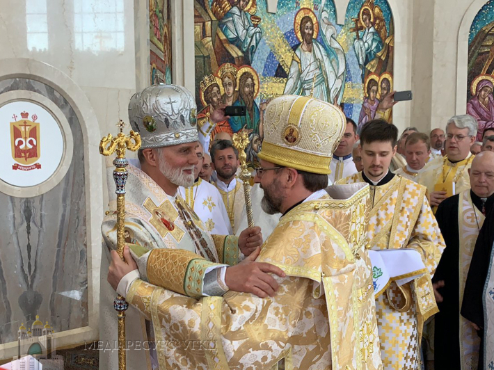 Глава УГКЦ привітав владику Бориса Гудзяка з шістдесятиріччям: «Ви гідний послідовник митрополита Андрея та патріарха Йосифа»