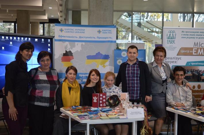 БФ «Карітас-Львів УГКЦ» презентував свою діяльність на Соціальному форумі у Львові