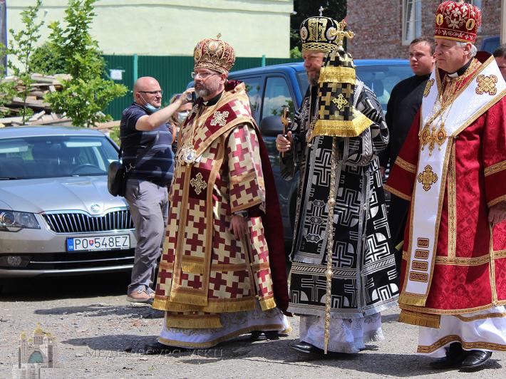 Глава УГКЦ на похороні владики Мілана Шашіка: «Він був гідним наступником апостолів»