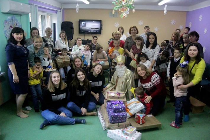 Святий Миколай «Карітас-Київ» Київської архиєпархії прийшов до понад 600 дітей