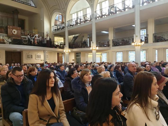 Парафіяни паризького собору Святого Володимира здійснили прощу до каплиці Чудотворного медальйона Пресвятої Богородиці