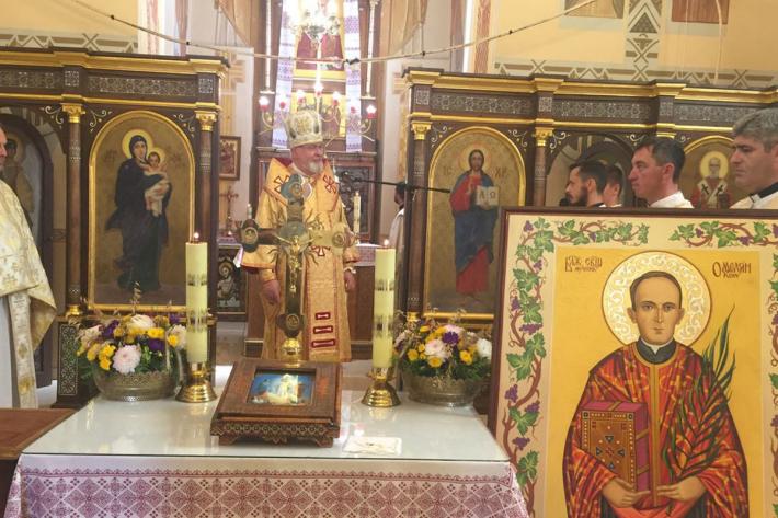 «Таких святих в історії Церкви дуже мало», – владика Тарас Сеньків у Перемишлянах