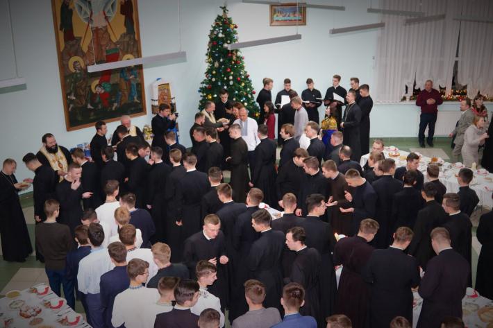 У Львівській духовній семінарії Святого Духа відбулася традиційна Різдвяна просфора