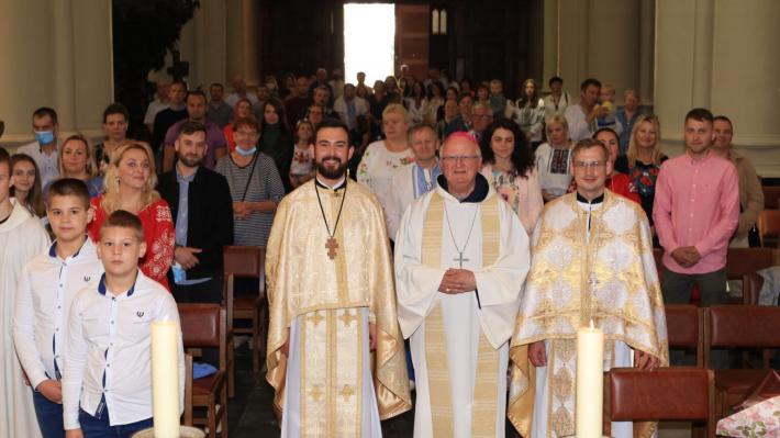 Греко-католицька парафія у бельгійському місті Гент відзначила свою другу річницю