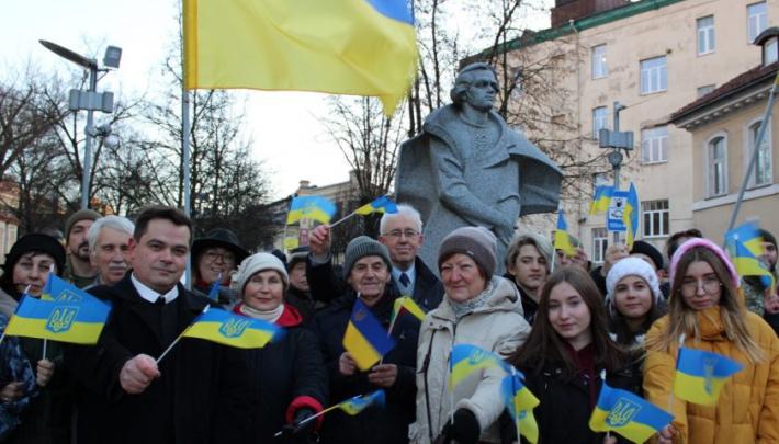 У Литві відзначили День Соборності України