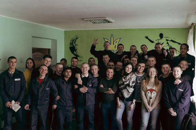 Київські студенти в супроводі священника зустрілися з підлітками у виховній колонії