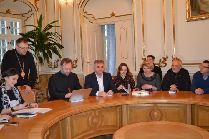 У Львові провели першу робочу зустріч з обговорення заходів вшанування праведного митрополита Андрея