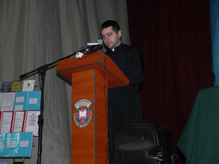 Військовий капелан узяв участь у конференції, присвяченій запобіганню самогубства серед військових