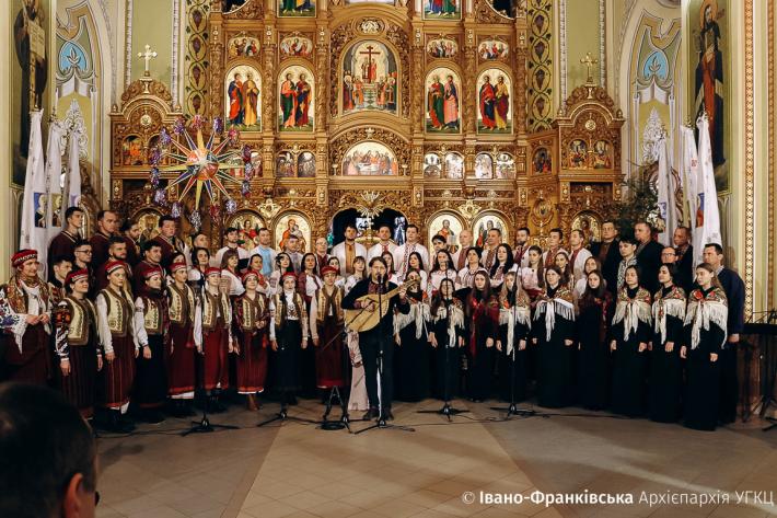 В Івано-Франківську завершився XII Міжнародний фестиваль «Коляда на Майзлях»