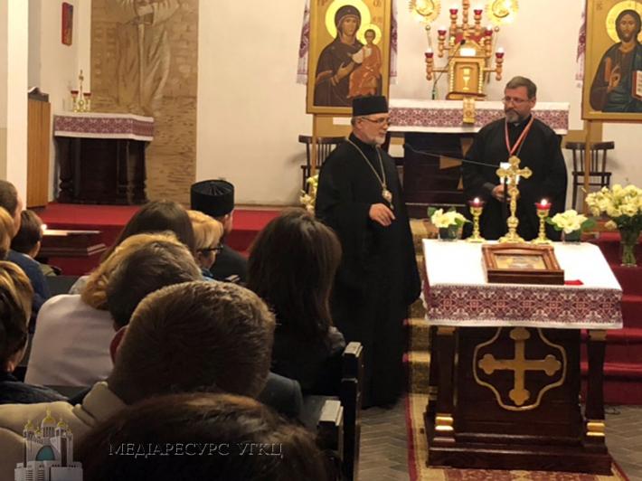 Глава УГКЦ на зустрічі з греко-католицькою громадою у Познані: «Інтеграція – так, асиміляція – ні»