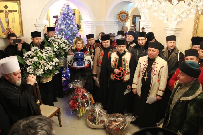 У Зарваниці молитовно зустріли Новий рік за юліанським календарем