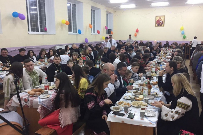 У Тернопільській семінарії пройшла спільна вечеря у Надвечір'я Богоявлення