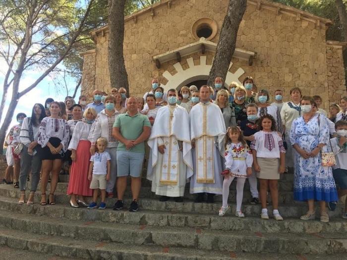 Для українців на Майорці призначили священника, який вже відслужив першу Літургію