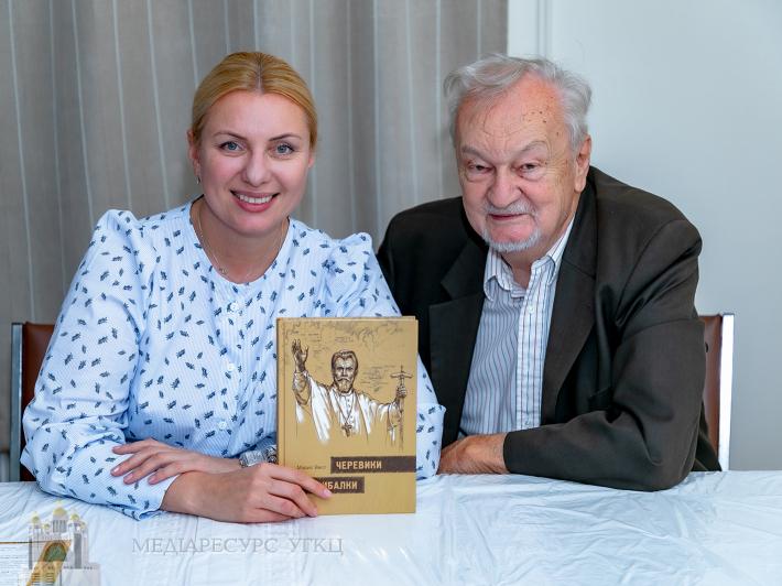 Україномовний переклад книги Мориса Веста «Черевики рибалки» презентували у Філадельфії