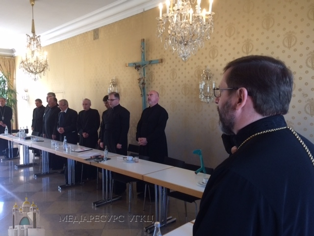 Владики Постійного Синоду УГКЦ зустрілися з духовенством і монашеством Екзархату для українців Німеччини та країн Скандинавії