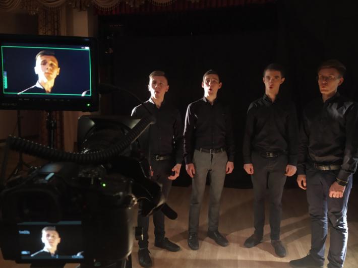 Вийшов відеокліп на вокальну композицію квартету студентів Дрогобицької духовної семінарії