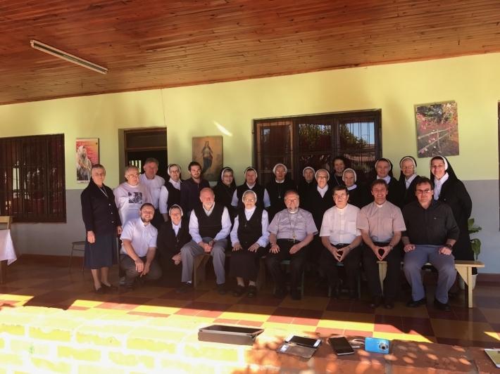 Владика Гліб (Лончина) провів курс літургійного богослов'я в Аргентині