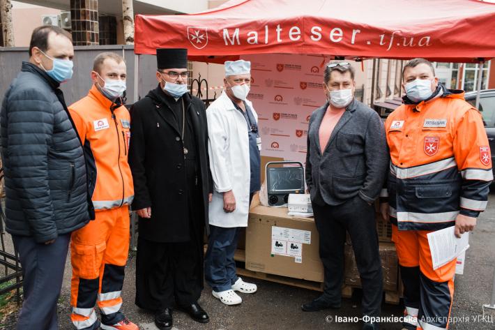 Завдяки Мальтійській службі допомоги Івано-Франківська міська лікарня отримала новий надсучасний ШВЛ-апарат