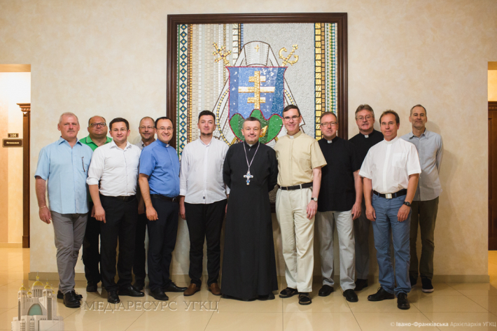 До Івано-Франківської архиєпархії завітали військові капелани з Німеччини
