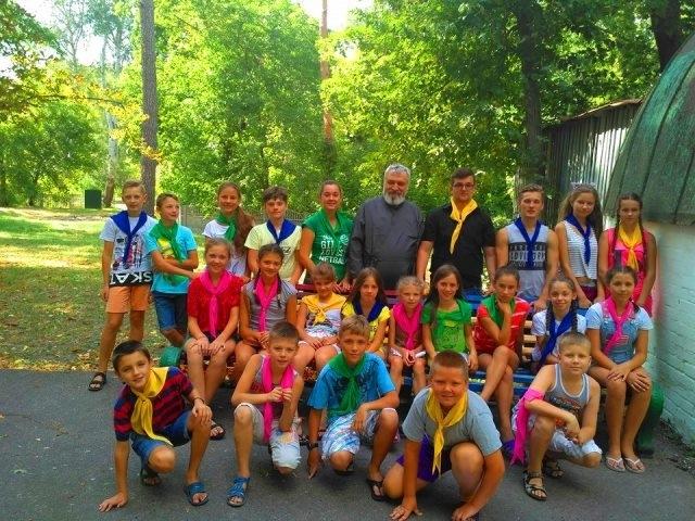 У Нових Санжарах розпочався духовно-екологічний табір «Дороговказ» для молодих греко-католиків