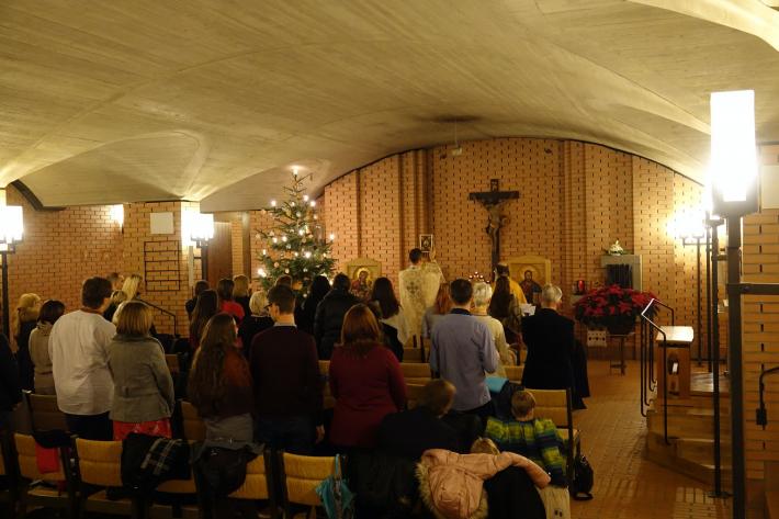 Українці Цюриха почали святкувати Різдво за новим календарем