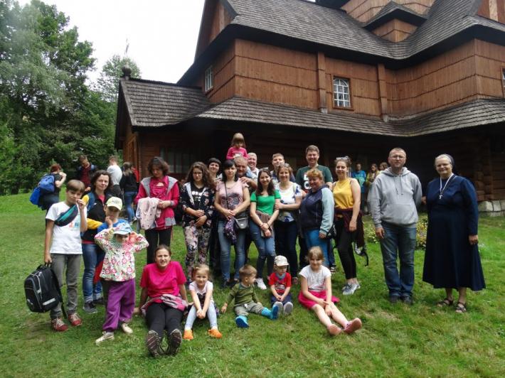 Родини зі Сходу України взяли участь у християнському таборі