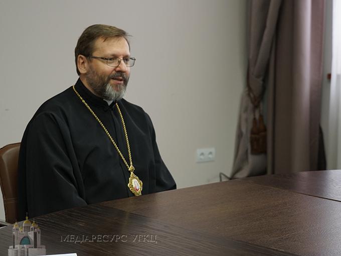 Блаженніший Святослав під час зустрічі з монашеством УГКЦ закликав засновувати при монастирях школи молитви