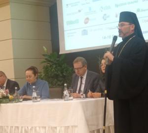Владика Ярослав Приріз привітав учасників науково-практичної конференції «Четверта академічна школа з педіатрії»