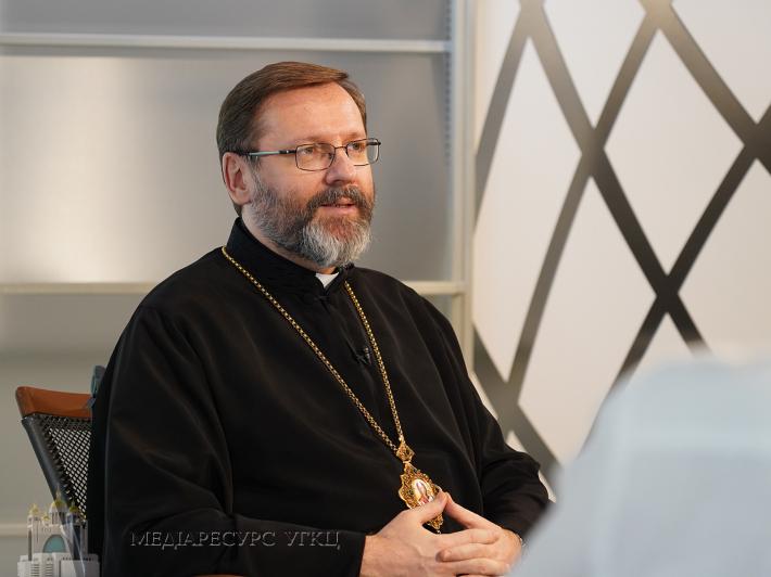 Глава УГКЦ про Церкву сьогодні: «Церква у посткоронавірусному світі бачить своє місце у людських стосунках»