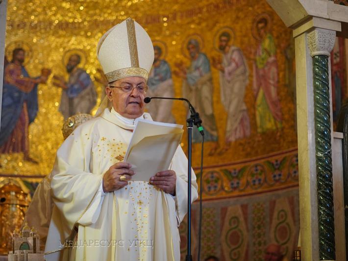«Віра вашої Церкви є великим даром від Бога», - кардинал Сандрі у соборі Святої Софії в Римі
