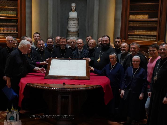 Глава УГКЦ з єпископами Синоду УГКЦ розпочали візит до Флоренції