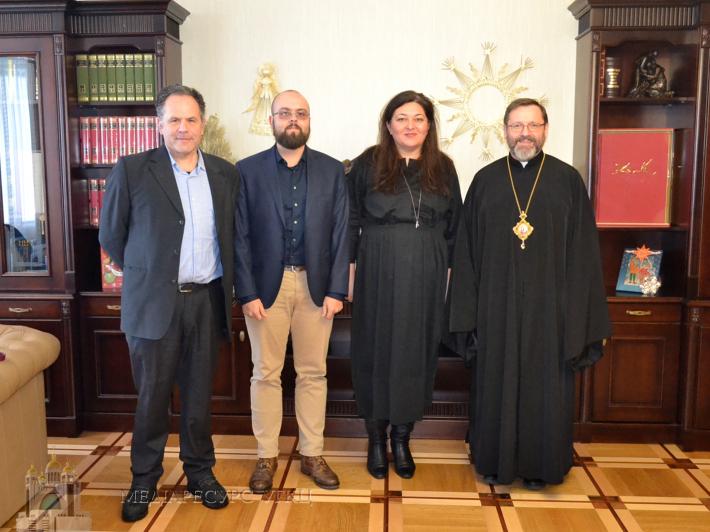Глава УГКЦ обговорив з представниками ОБСЄ можливості для розвитку громадянського суспільства в Україні