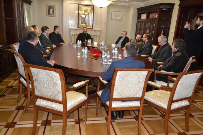 Глава УГКЦ зустрівся з екуменічною групою «Примирення в Європі – завдання Церков в Україні, Білорусі, Польщі та Німеччині»
