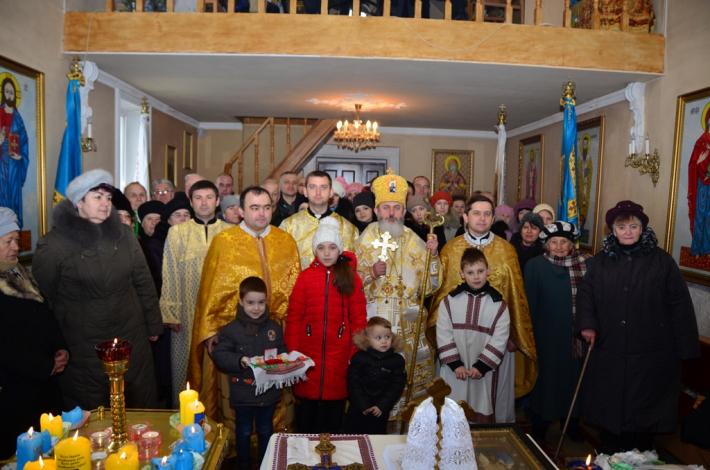 Владика Йосафат (Говера) здійснив канонічну візитацію парафії Святих апостолів Петра і Павла у Нововолинську