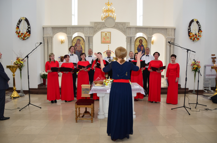 У Луцькому екзархаті відбувся ІІ Регіональний фестиваль духовної музики «Великодні дзвони»