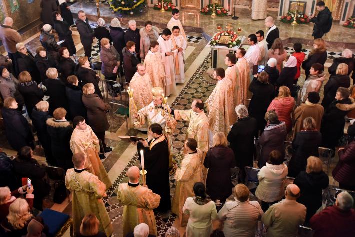 У соборі Святої Софії в Римі висвячено диякона
