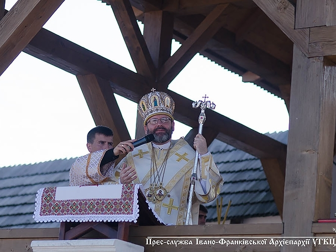 """God is faithful, and His hand never stopped helping us,"" His Beatitude Sviatoslav in Krylos"