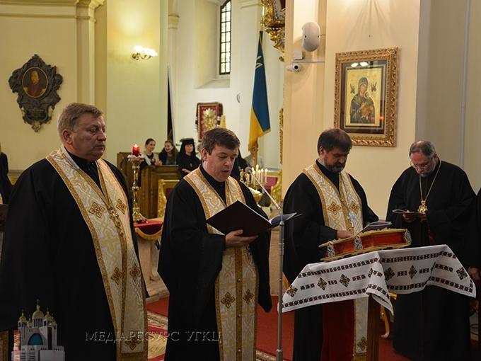 У Львові провели Чин архиєрейського найменування Єпископа-помічника Філадельфійської архиєпархії