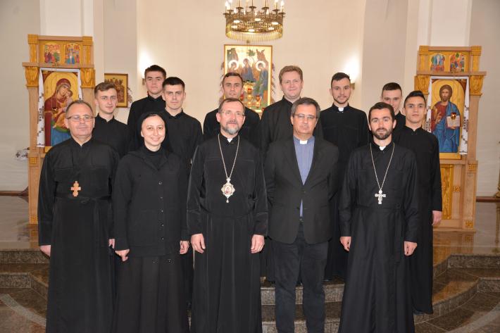 Візит до України Генерального Секретаря Ради Єпископських Конференцій Європи