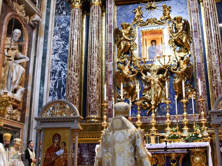 «Христове Євангеліє потрібно проповідувати зрозумілою мовою», – Глава УГКЦ у папській базиліці Санта Марія Маджоре