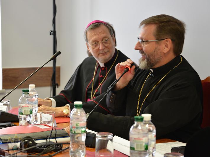 Посланник Святішого Отця на Синоді: «Зустрічі Папи Франциска і Глави УГКЦ є дуже плідними і заклали основи для міцної та глибокої співпраці»